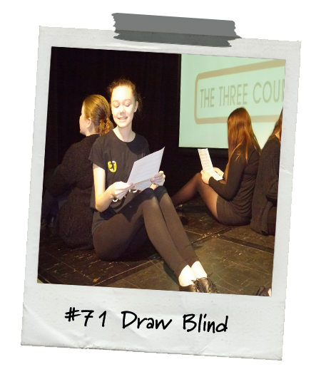 Drama Menu activity Draw Blind