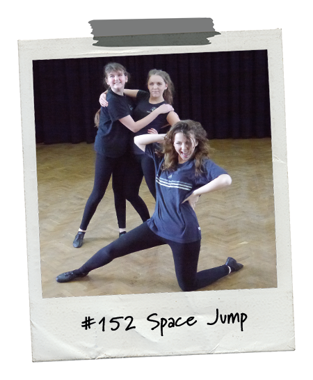 Drama Menu activity Space Jump