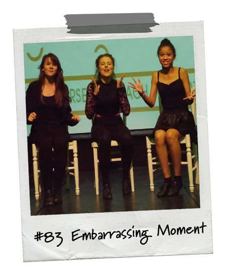 Drama Menu activity Embarrassing Moment