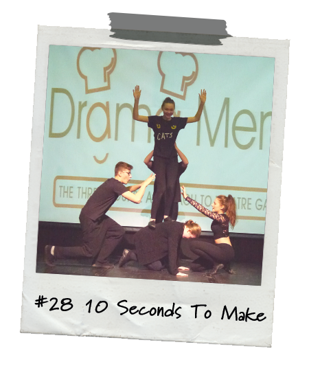 Drama Menu activity 10 Seconds To Make