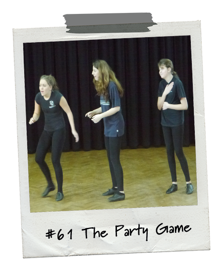 Drama Menu activity The Party Game